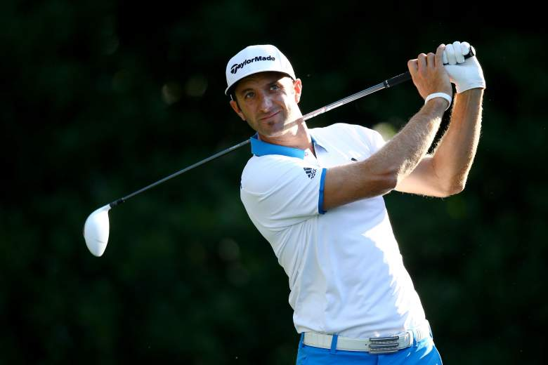 Dustin Johnson is one of the favorites in the AT&T Byron Nelson. (Getty)