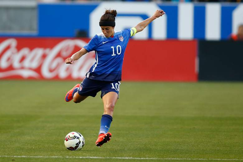 Carli Lloyd the United States are in Group D for the Women's World Cup. (Getty)