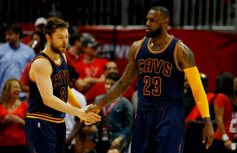 Matthew Dellavedova, LeBron James, NBA, Cavs