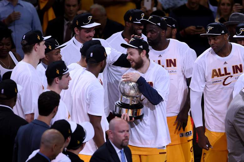 The Cleveland Cavaliers are in the NBA Finals for the first time since the 2006-07 season. (Getty)