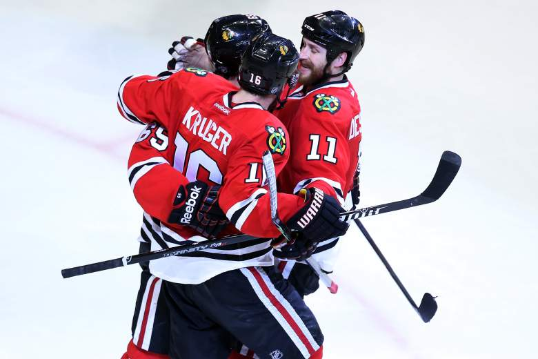 Chicago meets Tampa Bay in the Stanley Cup Final.(Getty)