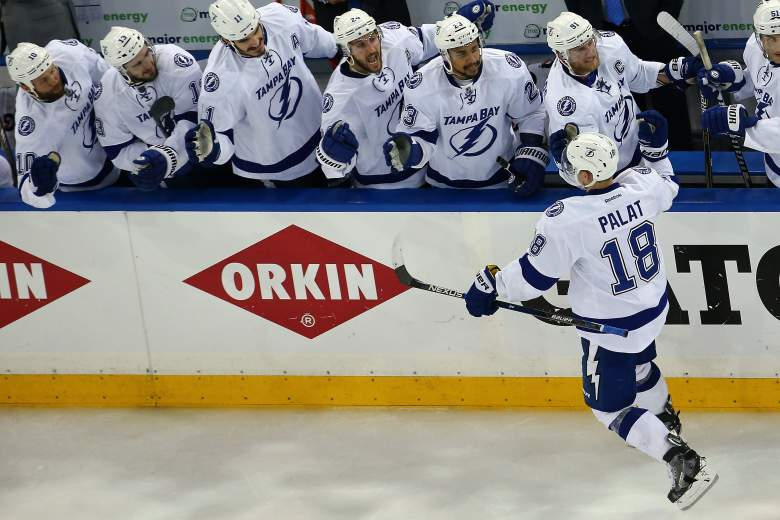 Tampa Bay will meet Chicago in the Stanley Cup Final. (Getty)