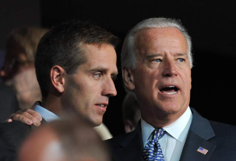 Vice President Biden pictured with his son, Beau.