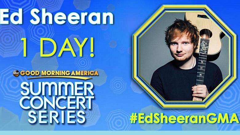 Ed Sheeran, Ed Sheeran GMA, Ed Sheeran Good Morning America, Ed Sheeran Concerts, Ed Sheeran Kiss, Ed Sheeran Girlfriend, Ed Sheeran Dating, Ed Sheeran GMA Performance