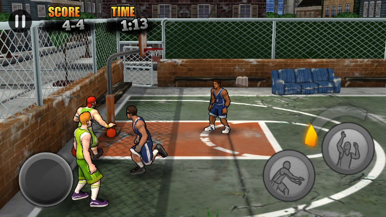 sports games, sports apps, free sports games, Jam City Basketball