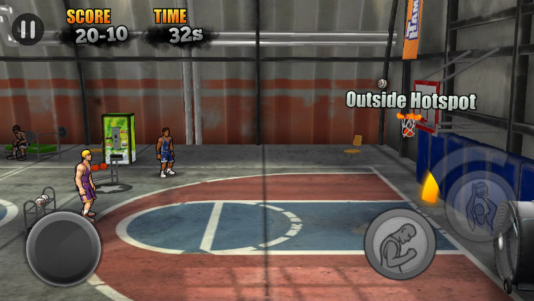 new sports games, free sports apps, Jam City Basketball