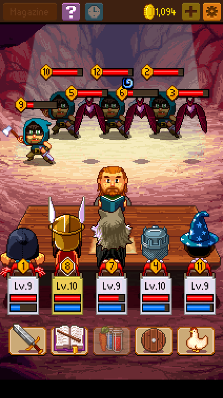 Knights of Pen and Paper 2 Cheats