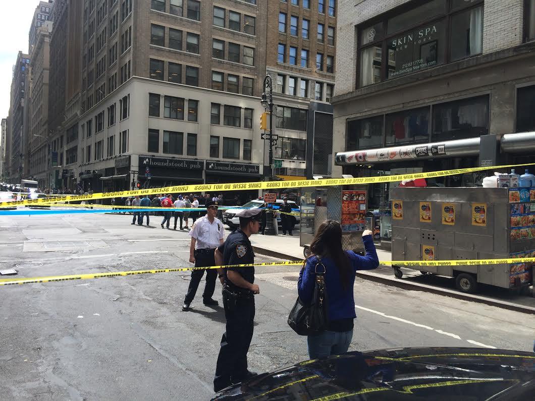 Midtown shooting, nypd shooting, david baril