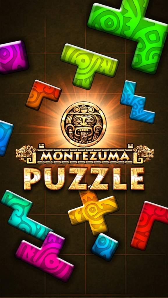 Free puzzle apps, new puzzle games, iphone apps, Montezuma Puzzle