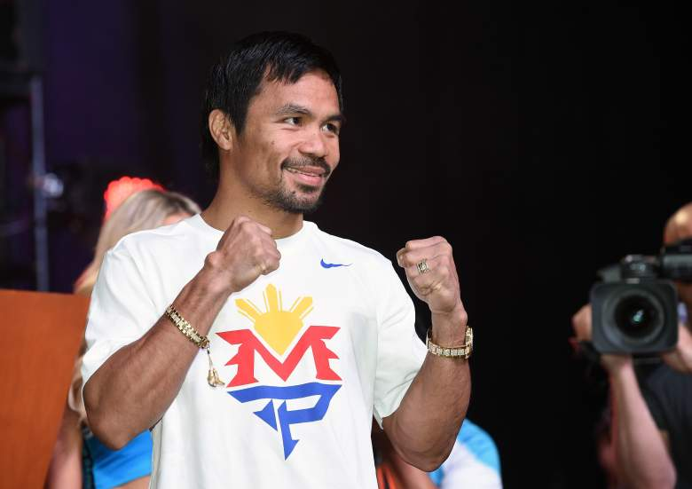 Manny Pacquaio is very wealthy from boxing, but has not managed his money well. (Getty)