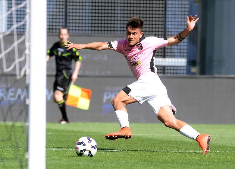 Paulo Dybala has scored 13 goals and led Serie A with 10 assists in 2014-2015. (Getty)