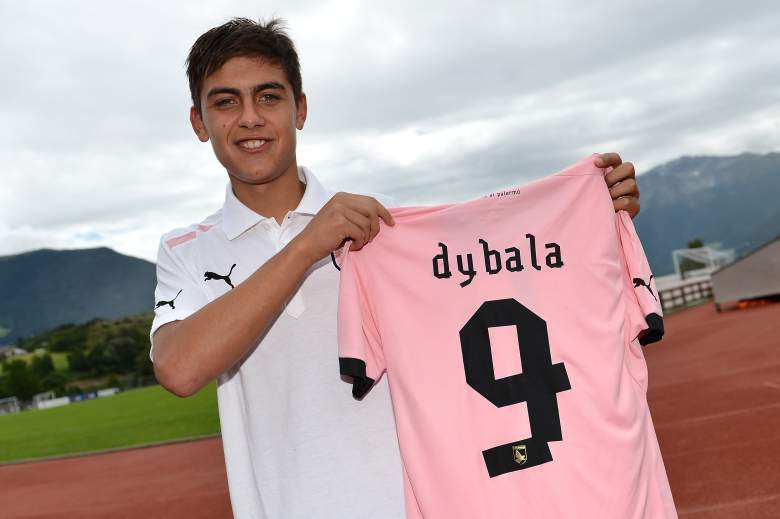 Paulo Dybala signed with Palermo before the 2012-2013 season after playing for Instituto from 2003-2012. (Getty)