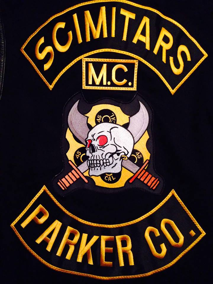 Scimitars Motorcycle Club, Scimitars biker gang, scimitars waco