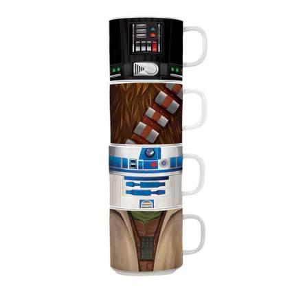 Star Wars 4 Piece Stacking Ceramic Mug Set