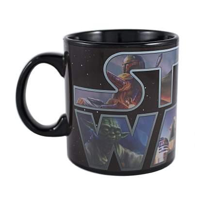 star wars logo mug