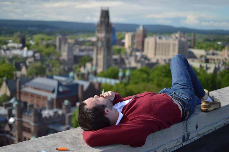 Tyler Carlisle Smoking Roof