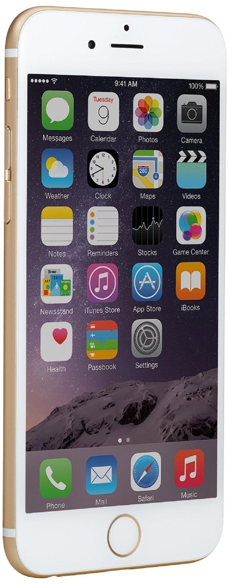 Apple iPhone 6, Gold, 64 GB (Unlocked), apple iphone 6, apple iphone, fathers day gift, fathers day present