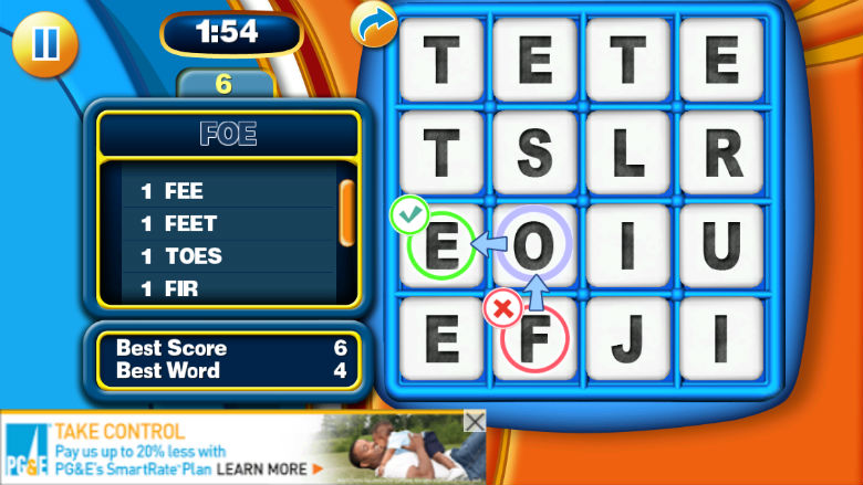 free board game apps, boggle