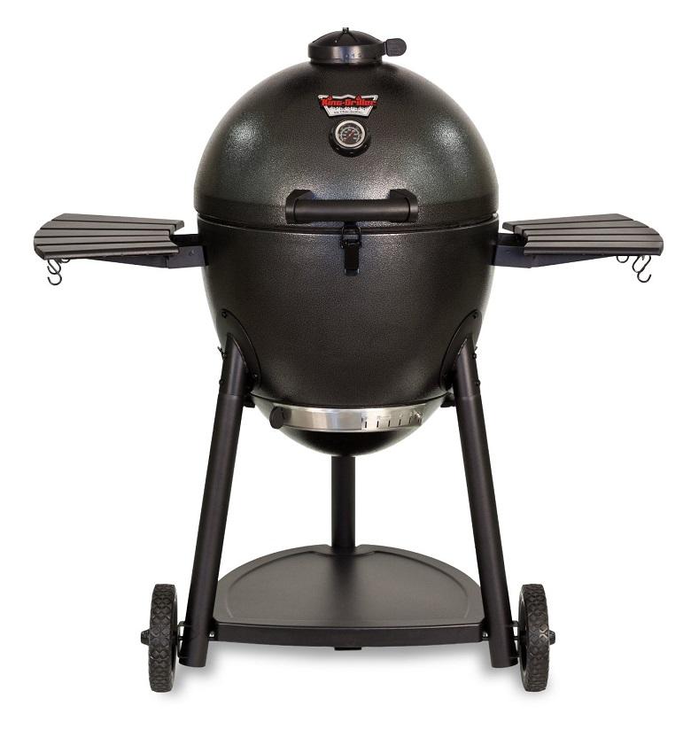Char-Griller 16620 Akorn Kamado Kooker Charcoal Barbecue Grill and Smoker, char griller 16620, charcoal barbeque grill, charcoal smoker, outdoor grill, outdoor gas grill