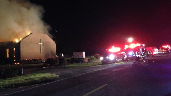 Mt Zion AME Church fire, Greeleyville South Carolina church fire, black church fire south carolina