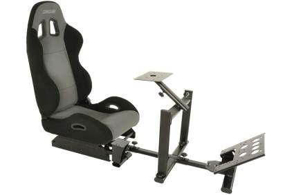 Conquer Racing Simulator Cockpit with Gear Shifter Mount
