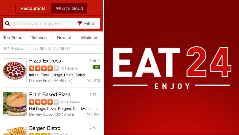 food delivery apps, food and drink apps, take out apps