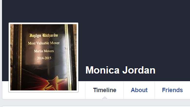 Monica Jordan Facebook