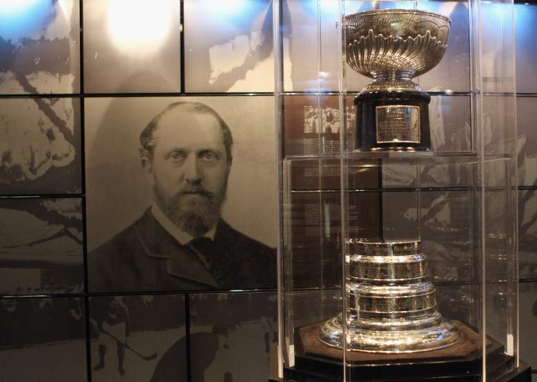 TORONTO, ON - NOVEMBER 08:  The original Stanley Cup rests in a vault at the Hockey Hall of Fame on November 8, 2010 in Toronto, Canada.  (Photo by Bruce Bennett/Getty Images)