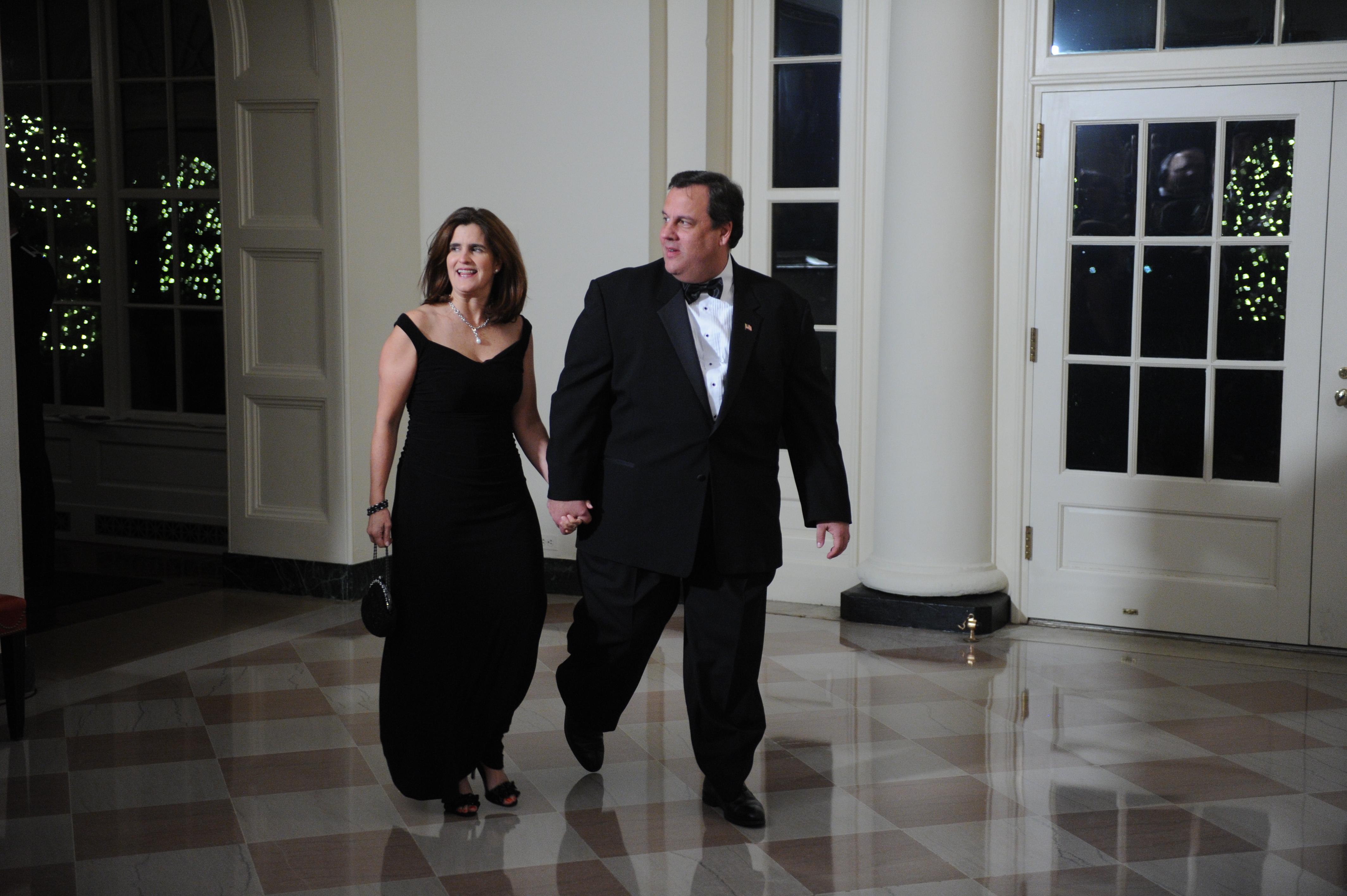 Chris Christie wife, Mary Pat Christie