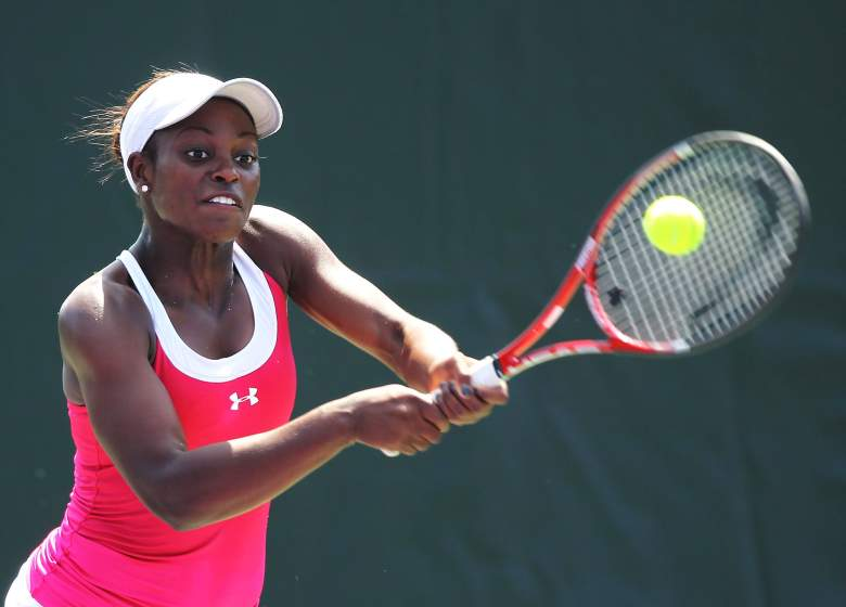 Sloane Stephens is ranked in the top 50. (Getty)