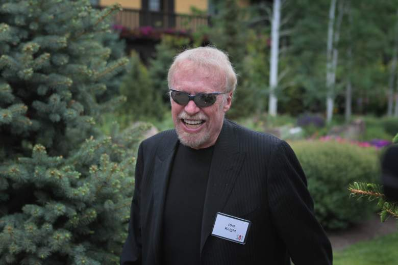 Phil Knight is stepping down as Nike Chairman. (Getty)