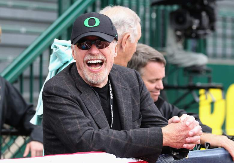 Phil Knight and Nike made a big announcement today. -Getty