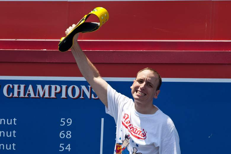 Joey Chestnut has won 8-straight Nathan's Hot Dog Eating Competitions. (Getty)