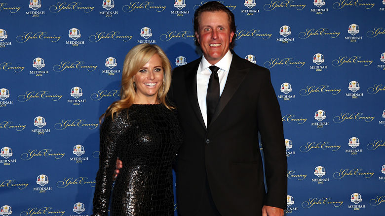 Phil Mickelson's wife
