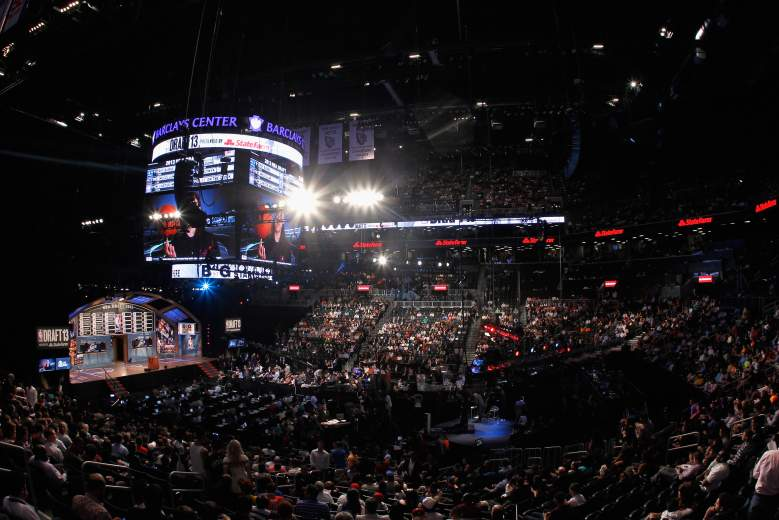 The Barclays Center will host the 2015 NBA Draft. (Getty)