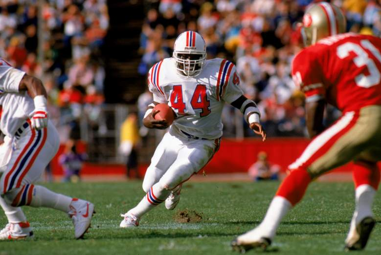 John Stephens was a running back with the New England Patriots. (Getty)