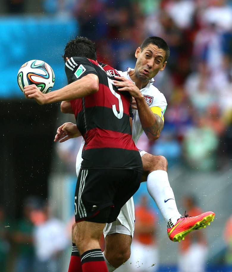 Germany defeated the USA 1-0 at the World Cup last June. Getty)