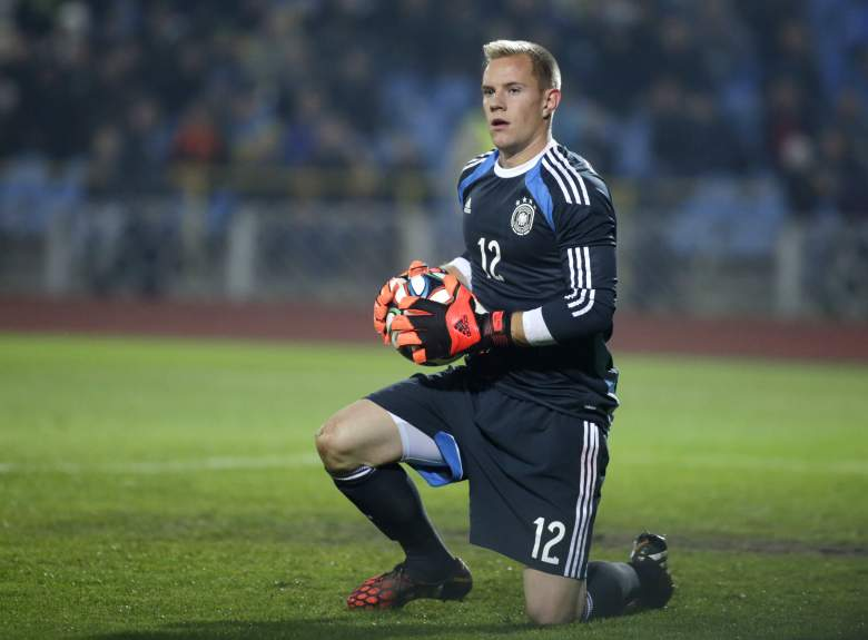 Marc-Andre ter Stegen may get his fifth international cap for Germany. Getty)
