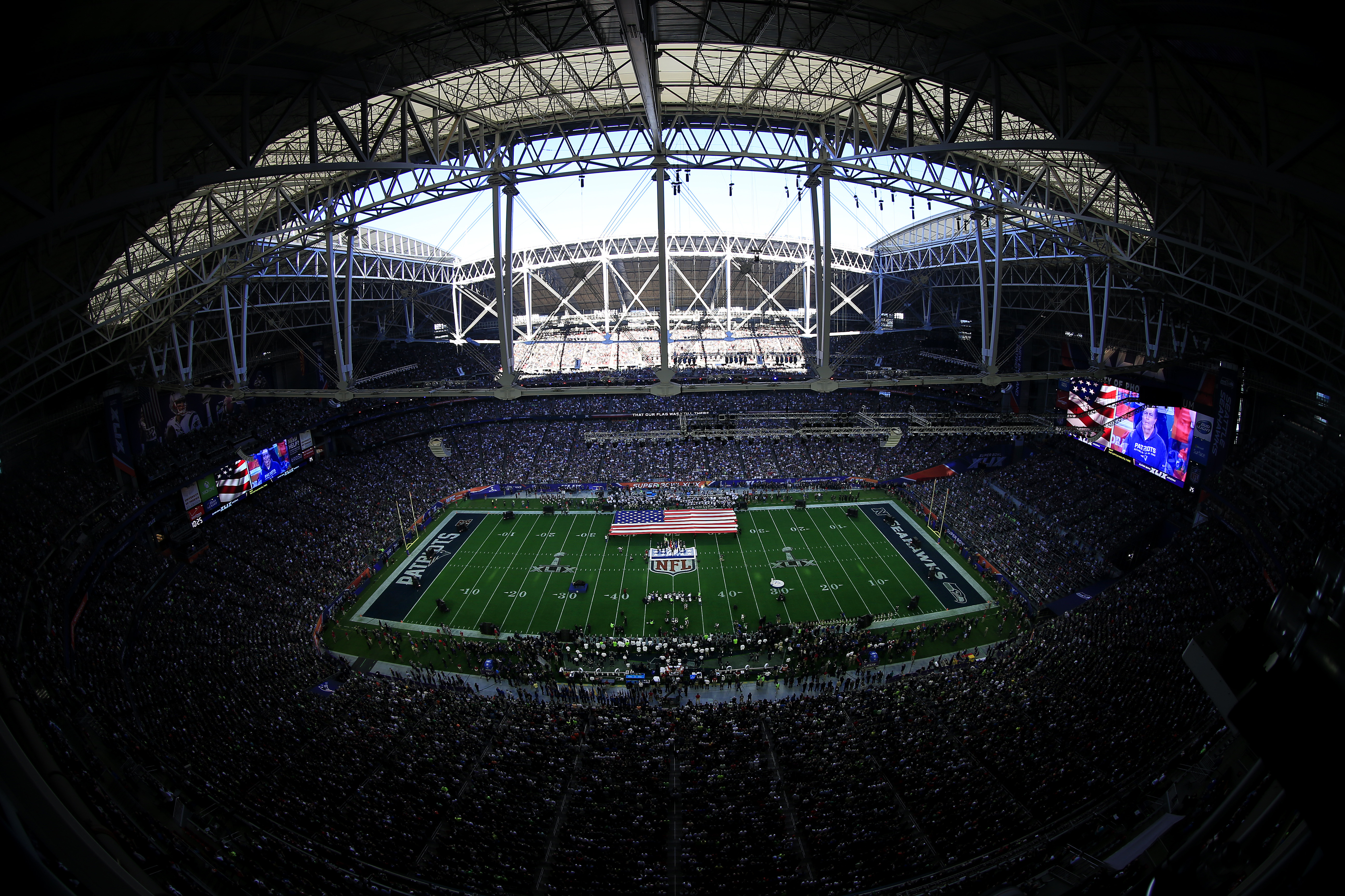 The 2015 Super Bowl in Glendale, Arizona, was a possible terror attack target for Abdul Kareem, prosecutors say. Getty