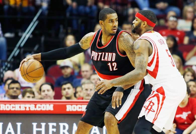 Several NBA teams are pursuing LaMarcus Aldridge. (Getty)