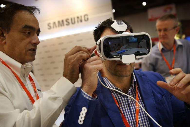 Samsung Gear VR, best wearable tech, best VR headset