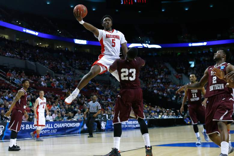 Stanley Johnson goes up for the shot. (Getty)