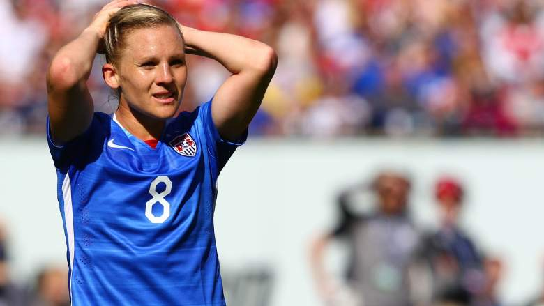 Amy Rodriguez wasn't a lock for the USWNT roster in Canada, but now she's proving crucial as the team goes after the 2015 Women's World Cup. (Getty)