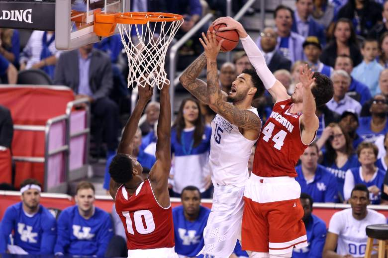 Willie Cauley-Stein goes up for a shot. (Getty)