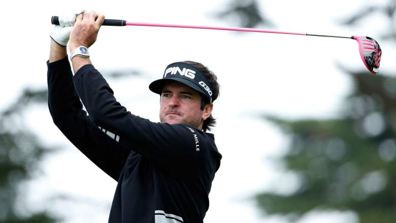 Bubba Watson is priced at a reasonable $9,400 in DraftKings. (Getty)