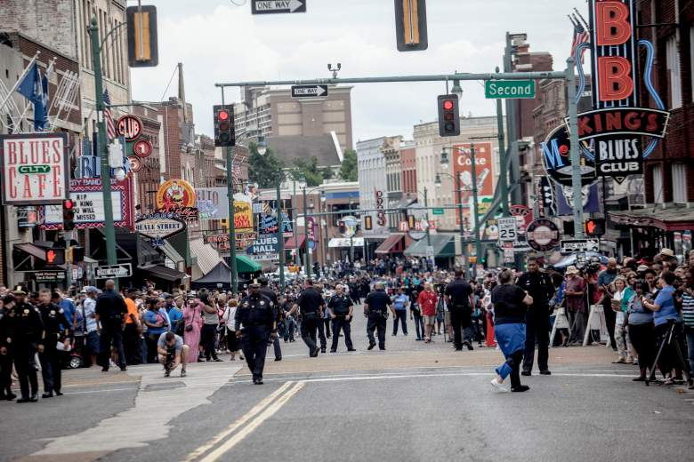 Beale Street in Memphis, Tennessee. (Getty)
