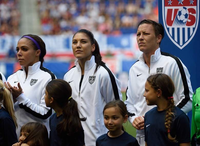 The US Women's Soccer team meets Australia Monday in their World Cup opener. (Getty)