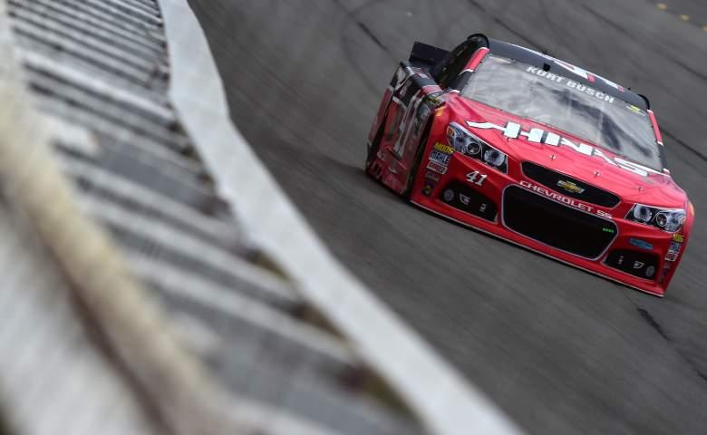 Kurt Busch is on the pole for Sunday's Axalta 400 at Pocono Raceway. (Getty)
