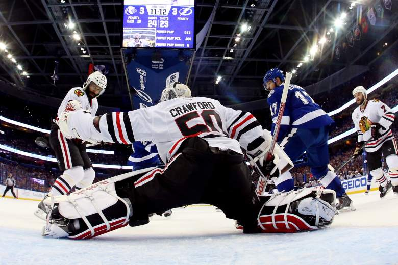 Game 3 of the Stanley Cup Final is Monday night. (Getty)