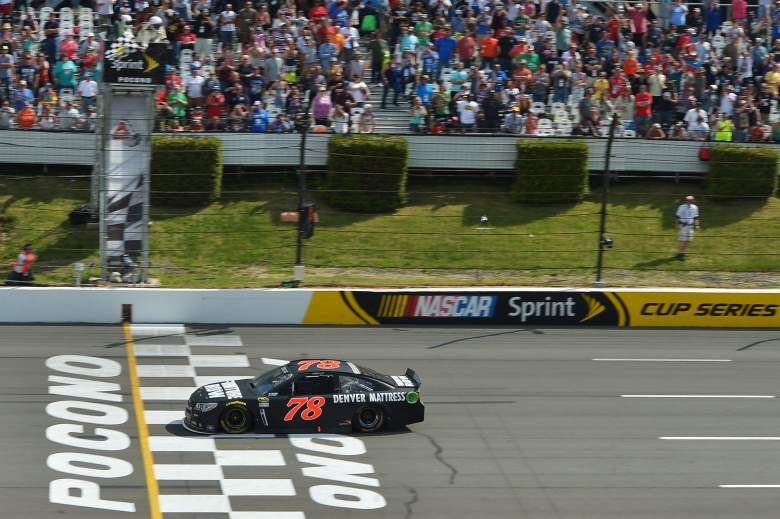 Martin Truex Jr. won his first race in nearly 2 years last weekend at Pocono Raceway. (Getty)